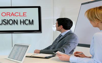 Oracle Fusion HCM 17th Batch