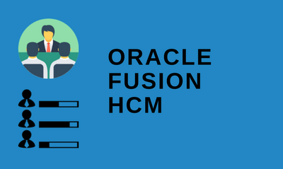 Oracle Fusion HCM 30th Batch@06-07-2020