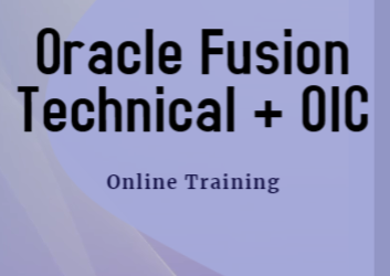 Oracle Fusion Technical + OIC Corporate Training