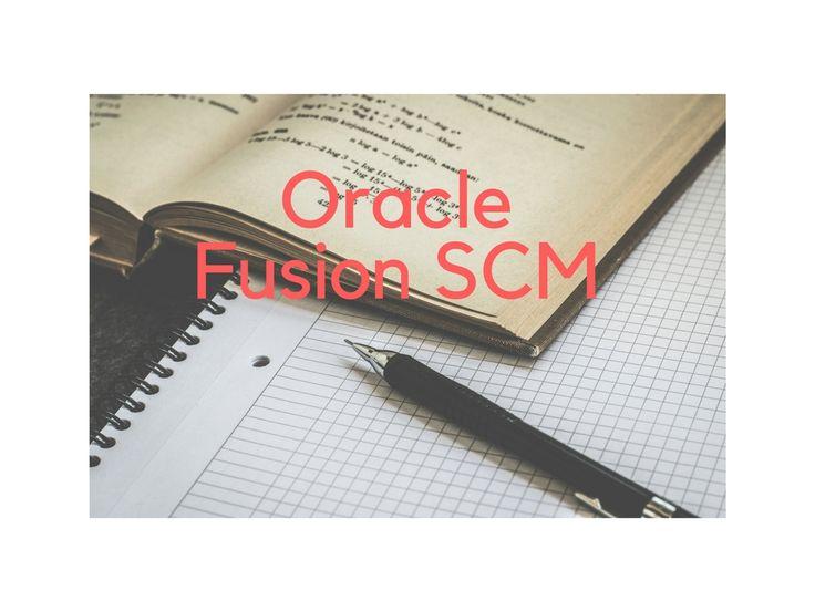 Fusion SCM 19th Batch 17-7-18
