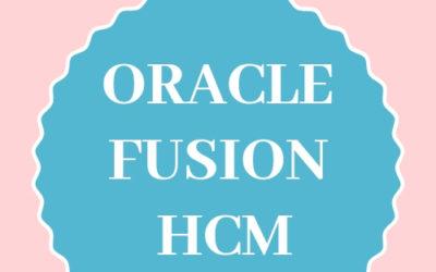 Fusion HCM 23rd Batch@26-01-2019