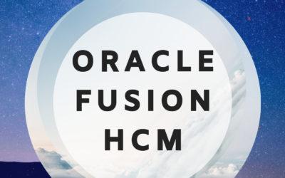 Fusion HCM 24th Batch@20-04-2019