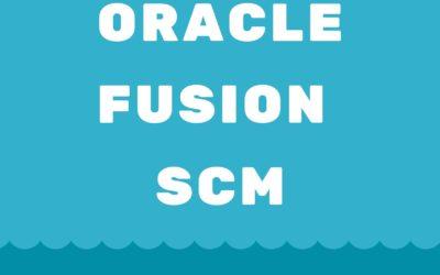 Fusion SCM 25th Batch@24-06-2019
