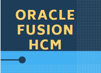 Fusion HCM 25th Batch@01-07-2019