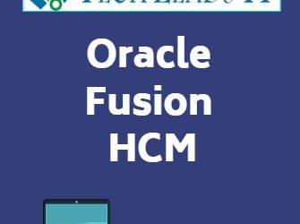 Fusion HCM 26th Batch@26-08-2019