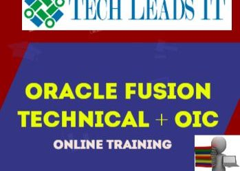 Oracle Fusion Technical & OIC 8th Batch@11-08-2020